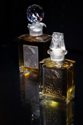 Musée Lalique de Wingen-sur-Moder, flacon à parfum - cliché Cédric AMEY