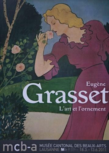 Affiche :: Eugène Grasse l'art et l'ornement