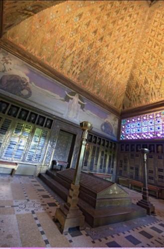 La-Chaux-de-Fonds, crématoire Art Nouveau : intérieur