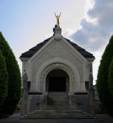 La-Chaux-de-Fonds, crématoire Art Nouveau