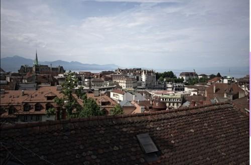 Lausanne :: vue générale