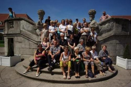Les membres de l'AAMEN à Bad-Nauheim